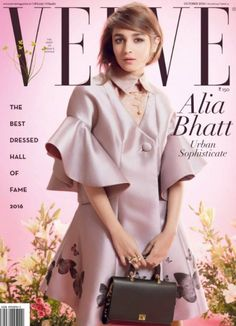 The Bollywood's cutest actress Alia Bhatt is a new cover girl for Verve Magazine's October 2016 issue. The Alia Bhatt is looking cutest ever in this shoot.