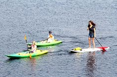 10 Fun Things to Do in Gulf Shores and Orange Beach with Kids: Go Paddling or Zip Lining