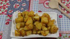 Patatas Bravas, aardappeltjes uit de oven mét fantastische kruiden zonder zout, benieuwd naar dit recept, klik door op de foto!