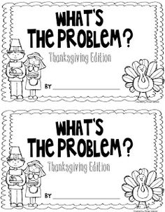 {FREEBIE}- students write the word problem for a given answer