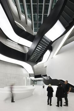 MAXXI-Museum Zaha-Hadid Her work is increadible! Just because mid century is not modern! #modern #design #architecture #interior