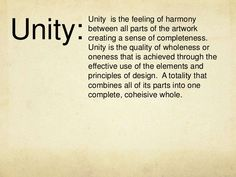 Unity In Art, Elements And Principles, Feelings, Search, Google, Searching