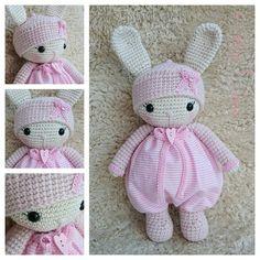 Next Amigurumi is done. Cute little Buny. www.ateliervemaro.de