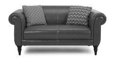 Fame Leather Midi Sofa Sofa, Couch, Love Seat, Lounge, Leather, Furniture, Home Decor, Airport Lounge, Settee