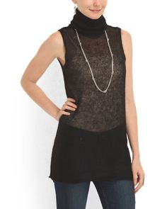 Mohair And Silk Pullover Tank