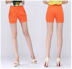 Spring and summer new candy color elastic shorts large size white casual shorts slim female solid shorts 6 colors S 4XL -in Shorts from Women's Clothing & Accessories on Aliexpress.com | Alibaba Group