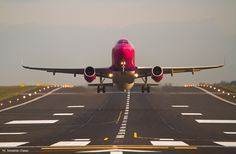 #airplane #airportgdansk #plane #airport #epgd #wizzair #landing; photo: Sebastian Elijasz / Port Lotniczy Gdańsk