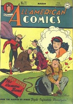 A cover gallery for the comic book All-American Comics Comic Book Pages, Comic Book Covers, Comic Book Characters, Comic Character, Comic Books Art, Comic Art, Book Art, Pulp Fiction Comics, Justice Society Of America