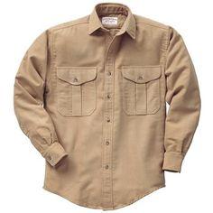 Filson Shelter Cloth Shirt - Long Sleeve (For Men)