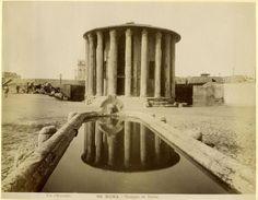Fratelli D'Alessandri - n. 096 - Roma - Tempio di Vesta (sic)