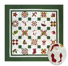Sue Garman - Night Before Christmas - 6 inch pieced and applique blocks