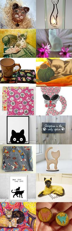You Are The Cat's Meow! by Dennis and Kay on Etsy--Pinned+with+TreasuryPin.com