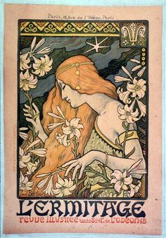 This one hits all my romantic and aesthetic nerves!     L'Ermitage revue illustrée, by Paul-Emile Berthon.