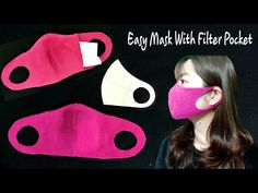 Make Fabric Face Mask at home Sewing Hacks, Sewing Tutorials, Sewing Crafts, Sewing Projects, Face Scrub Homemade, Homemade Face Masks, Easy Face Masks, Diy Face Mask, Pocket Pattern