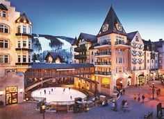 Looking for your next SKI Retreat?  Look no further: http://ospa.me/1w18kCj  Arrabelle Vail #travel #resort #spa