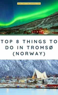 Located in Northern Norway there are a lot of things to do in Troms for the thrillseeking in you. From Northern Lights hunting to awesome whale watching. Read this post and learn Tromso, Norway Travel Guide, Europe Travel Guide, Hiking Norway, European Destination, European Travel, Norway Map, Norway Tours, Norway Nature