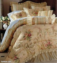 So Beautiful Fl Coverlet And Throw Pillows