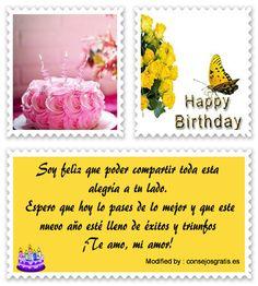 descargar frases bonitas de cumpleaños para mi enamorado,descargar mensajes de cumpleaños para mi enamorado: http://www.consejosgratis.es/bajar-lindos-mensajes-de-cumpleanos-para-mi-novia/