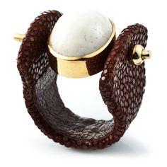 DANNIJO / Corsica    stingray ring!!!