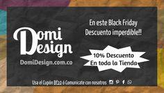 Black Friday 2015, aprobecha los descuentos en Domi Design, muebles y accesorios para el hogar, muebles de diseño clasicos y modernos