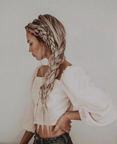 Awesome Hairstyles In September 2019 - Page 30 of 43 - Veguci Headband Hairstyles Wedding Hairstyles Braid Hairstyles Curly Hairstyle Medium Length Hairstyles Hairstyle Ideas Summer Hairstyles Summer Hairstyles, Pretty Hairstyles, Hairstyle Ideas, Boho Hairstyles For Long Hair, Blonde Hairstyles, Hairstyles 2016, Wedding Hairstyle, Easy Hairstyles, Medium Hair Styles