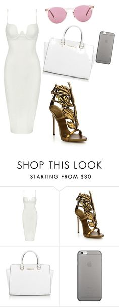 by briailliant-1 on Polyvore featuring Posh Girl, Giuseppe Zanotti, Michael Kors, Oliver Peoples and Native Union