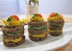 Dvoubarevné jednohubky   Metabolic Balance Metabolism, Cheesecake, Muffin, Menu, Breakfast, Desserts, Food, Turmeric, Menu Board Design