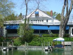 The Bluebird Restaurant, Leland, Mi. – Peas and Peanuts Salad – Cooking Secrets for Men Oh The Places You'll Go, Great Places, Beautiful Places, Places To Visit, Kayaking Near Me, Leland Michigan, Northern Michigan, Great Restaurants, Historic Homes
