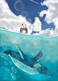 Shirokuma Cafe - Panda, Polar Bear, and Penguin