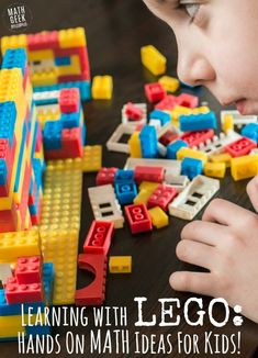 Need a helpful visual to teach and explore math concepts? How about LEGO? This post contains dozens of LEGO math ideas, games and videos to make sense of math!