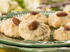Angel Almond Cookies - These gluten-free cookies are super easy to make and have a light and tasty almond flavor!
