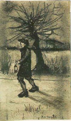 Vincent van Gogh: The Drawings (En Route, Brussels: January, 1881)