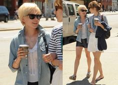 michelle williams cute hair