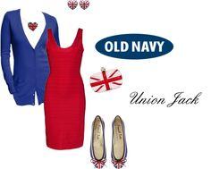 """""""Union Jack"""" by somanysparkles ❤ liked on Polyvore"""