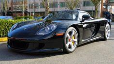 Porsche Carrera GT Preta