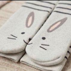 Cute bunny socks by Oysho