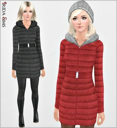 Padded Jacket by Irida - Sims 3 Downloads CC Caboodle