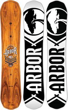 Arbor Roundhouse Snowboard - Men's - Snowboarding - 2015 - Christy Sports
