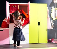 IKEA - STUVA storage combination with doors 104.00