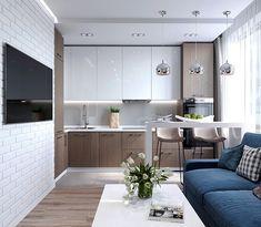 Дизайн небольшой квартиры в Москве совместно с @alexey_volkov_ab #дизайнпроект #interiordesign #interior #coronarender #coronarenderer #дизайн #дизайнинтерьера #интерьер #design #designer