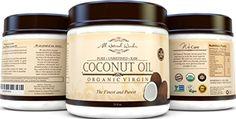 Best Organic Virgin Coconut Oil For Hair Skin  Stretch Mark Finest Grade For Beauty Natural Moisturizer Great Value 15 Oz Jar Pure Raw Unrefined USDA Certified * For more information, visit image link.