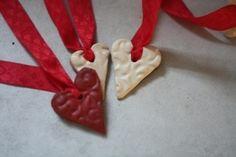 Printed Clay Valentine's Hearts DIY