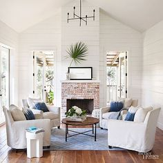 5 best fireplace seating arrangements to consider from traditional to unconventional on Slipcovers for your walls, casartblog.