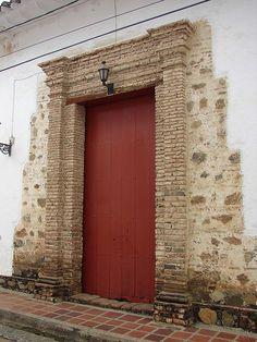 SANTA FE DE ANTIOQUIA by laloking97, via Flickr Building A Door, Door Knockers, Beautiful Soul, Doorway, Facades, Door Design, Garage Doors, Board, Outdoor Decor