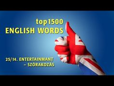 top1500 ANGOL SZÓ – 25/14. SZÓRAKOZÁS 1. - YouTube English Words, Education, Youtube, Kids, Toddlers, Child, Children, Teaching, Educational Illustrations