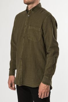 Our Legacy - Generation Shirt Grass large-2