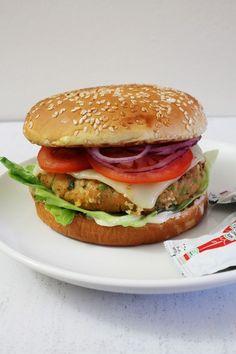 Aloo Tikki Burger Recipe | How to make aloo tikki burger at home