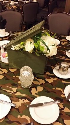 Military Ball Decorations Fabulous Army Life Brigade Ball Table Decorations Obviously