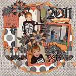 Halloween Scrapbook Ideas | not just photos of the costume, but up close of your kid, maybe even a shot going trick or treating