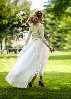 Precioso vestido de novia de #OliviaPalermo #Blog #Innovias